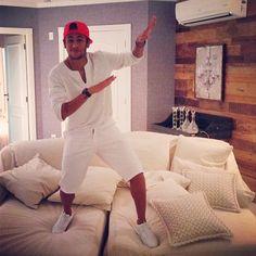 Neymar in hotel