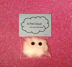 Pet cloud / wedding favors / wedding favours / quirky gifts / children / weird s. Pet cloud / wedding favors / wedding favours / quirky gifts / children / weird stuff / unusual gifts Source by rileymeerman Wedding Favours Quirky, Quirky Wedding, Wedding Gifts, Birthday Gifts For Teens, Friend Birthday Gifts, Card Birthday, Birthday Greetings, Birthday Ideas, Happy Birthday