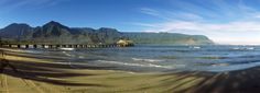 Hanalei Bay is located on Kauai's North Shore