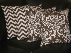 I love the front 2 pillows... would look good on a new couch in my yummy dark chocolate front room!!!