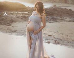 Rebeca pura gasa vestido de maternidad por SewTrendyAccessories