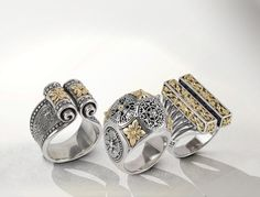 KONSTANTINO | The Penelope Women collection #rings #bracelets #bangles #konstantino #jewelry #greekJewelry #jewels #treasure #womensfashion #Iliada #rockJewelry #gold #silverSterling #elegance #gemstone