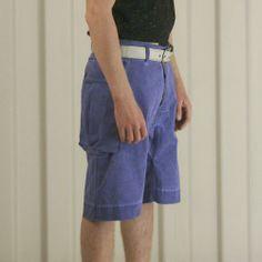 Griffin USMC Short - Cobalt £165 http://www.griffin-studio.com/welcome/product/usmc-short-cblue/ #griffin #griffinstudio #menswear #sportswear #fashion #lovelife #lovesummer #loveland #podlife