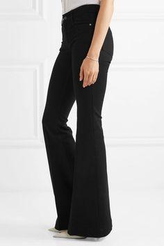 b477b3fd40a5 Stella McCartney - The  70s mid-rise flared jeans