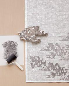 Block-Printed Tea Towels