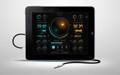Rupture iPad App UI