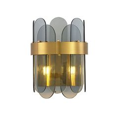 Modern Simple Glass Wall Lamp Sconce Lamp Bedroom Living Room Contemporary Wall Lights, Modern Wall Lights, Fitted Bedrooms, Made To Measure Curtains, Chandelier Pendant Lights, Bedroom Lamps, Modern Glass, Sconces, Bulb