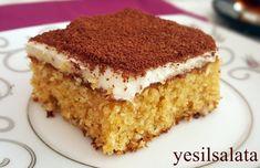 Tatlı mı desem ,pasta mı desem 😋😋😋Harika bir tat 👌👌 Ağzınıza aldığınızda hindistan cevizi, lezzeti damaklari senlendiriyor, şerbetli olmasına rağmen çok hafif bir pasta …🍭🍭🍭🍭🍭 Malzemeler: 4 …