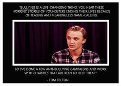 Tom Felton- another reason why I love this man!!!!!!!!!! <3<3<3<3<3