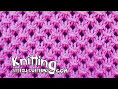 Cómo Tejer Abanicos en Colores 2 Agujas (236) - YouTube