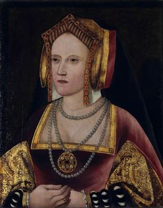 Portrait of Catherine of Aragon after restoration