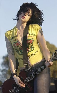 Brody Dalle - Lead Singer for The Distillers then Spinnerette and now on her solo career