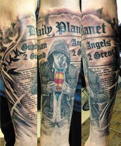 Tattoos For Fans of Batman v Superman | Inked Magazine