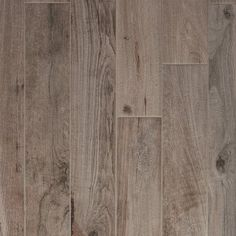 Soft Greige Wood Plank Porcelain Tile - 6in. x 40in. - 100105915 | Floor and Decor