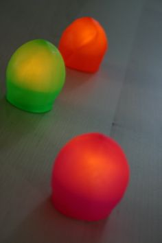 Blob Lights. You would never guess how they are made. So easy! Tutorial