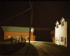 Bright Light at Russell's Corner -- George Ault