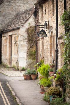 Tea Room, Village of Castle Combe   England