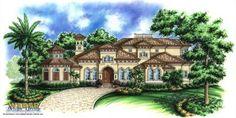 Caribbean house plan