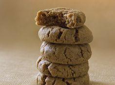 Healthy Peanut Butter Cookies I Vegan & Gluten Free