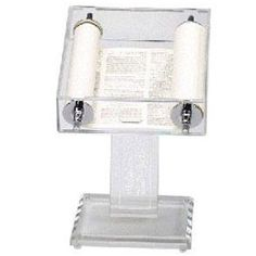 Amazon.com : Complete Torah in Acrylic Display Stand : Sports & Outdoors