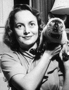 Olivia de Havilland(1916- ) British-American film and stage actress. Starred in Gone With the Wind.