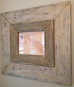 Handmade wooden 8x10 neutral  earth tone colors with hints of gold wall hanging picture frame on Etsy, $54.00