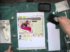 """Janna Werner: scrapbooking page """"Life is Great!"""""""