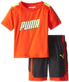 PUMA   Kids Baby Boys Formstripe Perf Set Intense Orange 18 Months -- Find out more about the great product at the image link.