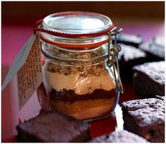 Lebkuchen-Brownie-Mix