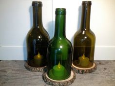 20 Ideas of How to Recycle Wine Bottles Wisely. Perfect for your northern Michigan cabin.