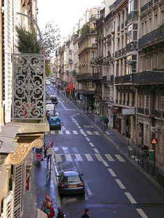 Clichy Rochechouard Quarter, rue de clichy, Paris IX