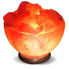 Lumiere Salt Lamp Teardropshaped Himalayan Salt Lamp  Products Salts And Himalayan