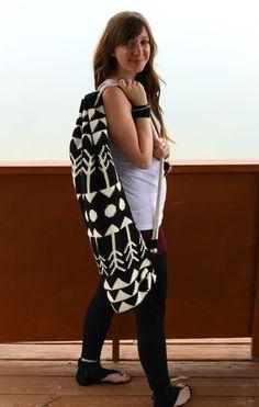 CROCHET PATTERN for The Yoga Mat Bag. $6.00, via Etsy.