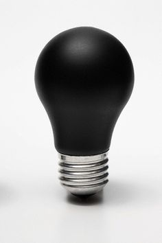 p a u l & h e n r i e t t e. chalkboard black bulb