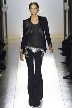 Balmain Fall 2007 Ready-to-Wear Fashion Show - Daria Werbowy