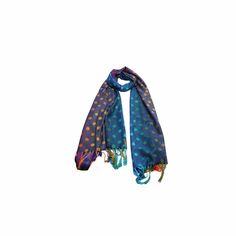 Pashmina Floral Póa Azul #pashmina #pashimina #modafeminina #fashion #scarf #scarfs