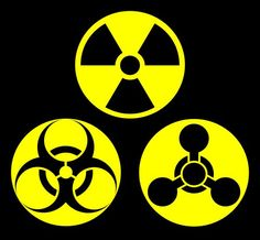 You will from my hand at chronolabs see in this image 3 hazard symbols, one is health hazard, the second at the top is nuclear, the third one is normally Peppa Pig Drawing, Tf2 Meme, Hazard Symbol, Sun Tattoo Tribal, Modern Day Witch, Bottle Drawing, Science Icons, Nuclear Medicine, Lego Army