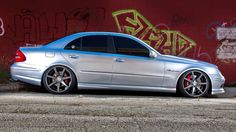 Mercedes-Benz W211 E55 AMG Vossen Wheels | BENZTUNING | MB, Maybach, Smart