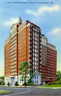 Jefferson-Hillman Hospital. Birmingham, Alabama.