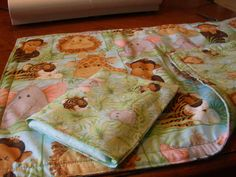 baby doll quilt and pillow set