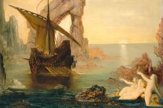 Gustave Moreau, The sirens