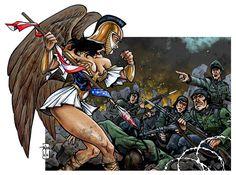 Nazis by Everwho on DeviantArt Fantasy Girl, Mythology, Draw, Deviantart, Manga, Nike, Gallery, Artist, Artwork