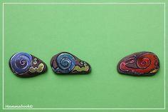 Mammabook: Sassi dipinti: lumachine, ricci, tartarughe… squali e coccodrilli! – Painted stones
