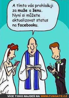 What a wedding? - 25 Pictures That Prove Technology Is Ruining Society Image Facebook, Facebook Status, Fb Status, Comunity Manager, Power Of Social Media, Me Now, Quality Time, Jokes, Technology