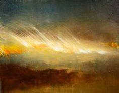 "Saatchi Art Artist Maurice Sapiro; Painting, ""Cirrus, Windborne"" #art"