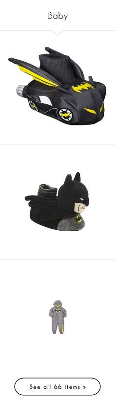 """""""Baby"""" by sarahslaughter ❤ liked on Polyvore featuring baby, baby clothe's, baby stuff, batman, shoes, 56. pacifiers & teethers., kids, baby boy clothes, babies. and baby boy"""