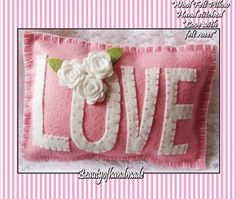 Size: 5 X 7    Lightly stuffed with polyfil    Perfect for Mother's Day, Wedding Gift, Wedding Shower,Valentines Day or an anniversary.