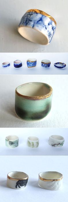 Sonja Cabalt | The Carrotbox Jewelry Blog - rings, rings, rings! | Bloglovin'