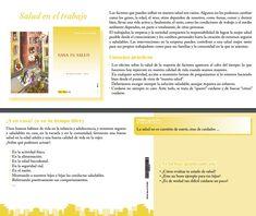Campaña de Promoción de la salud Tema n°1 Salud en el trabajo