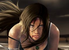 Lara Face Detail